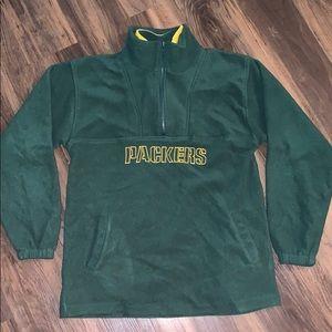 Vintage 90s Green Bay Packers Puma Half Zip